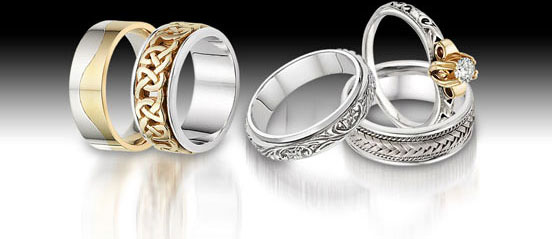 Wedding rings, wedding bands, diamond rings, gold wedding rings, white gold diamond rings